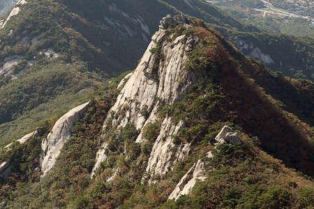 Korean Mountain (Bukhansan) Stock Photo - 10230697