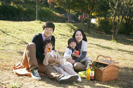 despotism: Family at picnic
