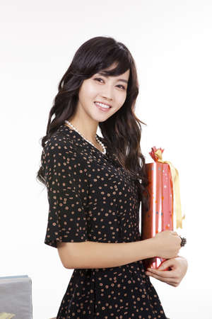 telegraphic communication: Happy Smile during shopping time (Gift)