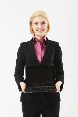 new recruit: mujer de negocios