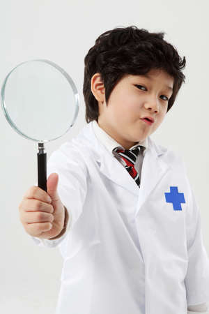 child in doctor uniform LANG_EVOIMAGES