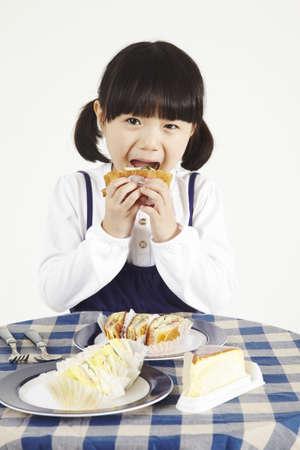 child eating Stock Photo - 16734566