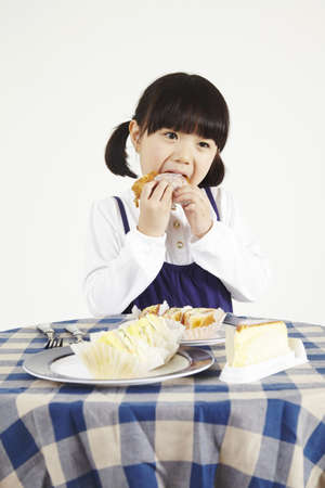 child eating Stock Photo - 16734567