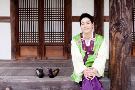 Korean traditional dress Stock Photo - 16705294