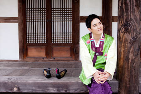 Korean traditional dress Stock Photo - 16705297