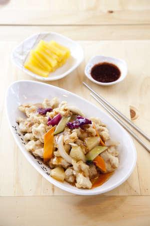 Chinese Korean inspired food Stock Photo - 16735489