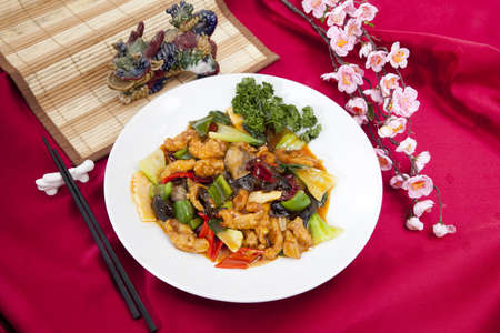 Chinese Korean inspired food Stock Photo - 16735114