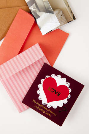 New Year card and envelope Stock Photo - 16736099