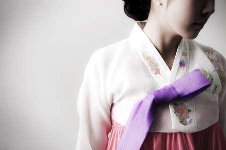 Korean traditional dress Stock Photo - 16744952