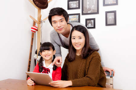family portrait Stock Photo - 16735135