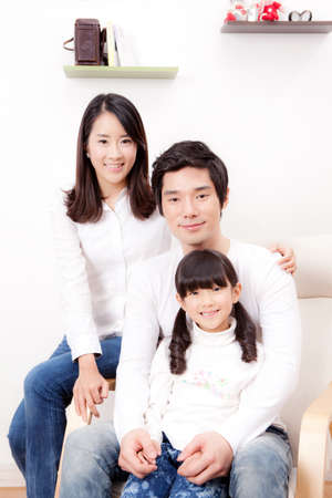 nuclear family: family portrait