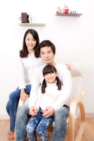 family portrait Stock Photo - 16745155