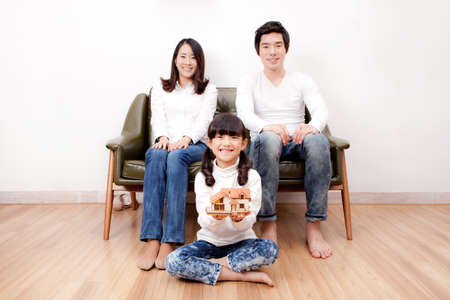 family portrait Stock Photo - 16745198