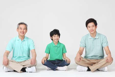 large family portrait Stock Photo - 16745841