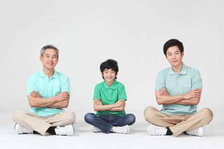 large family portrait Stock Photo - 16745844