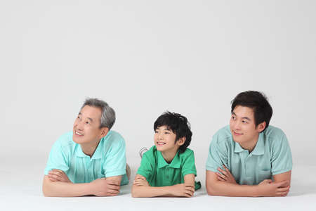 large family portrait Stock Photo - 16745855