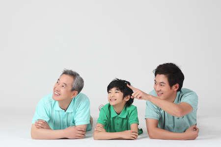 large family portrait Stock Photo - 16745857