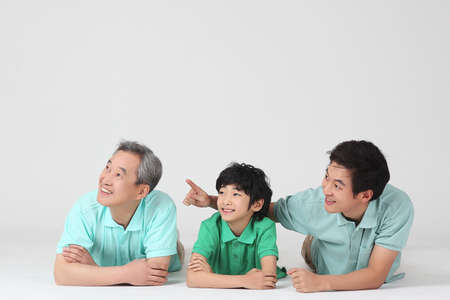 large family portrait Stock Photo - 16745859