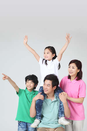 large family portrait Stock Photo - 16745871