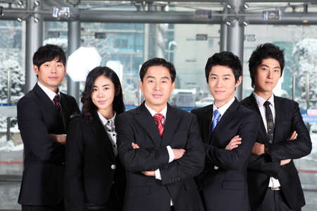 Group of business people  Stock Photo - 16745912