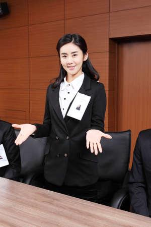 new recruit: Grupo de personas de negocios LANG_EVOIMAGES