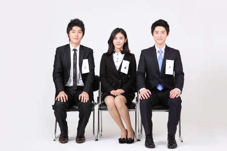 new recruit: Grupo de gente de negocios