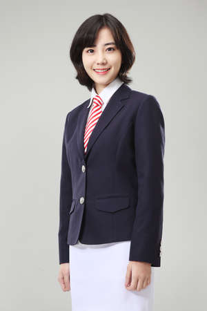 News announcer or anchor woman Stock Photo - 16746062