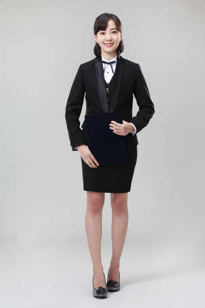 formality: business woman LANG_EVOIMAGES