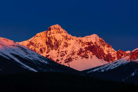 Alpineglow sunrise photo