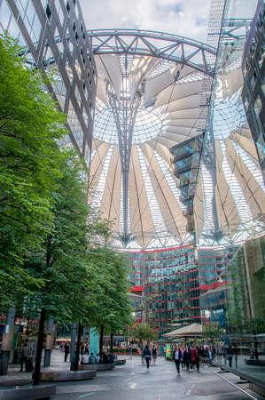 sony: Sony center in Berlin, architectural marvel