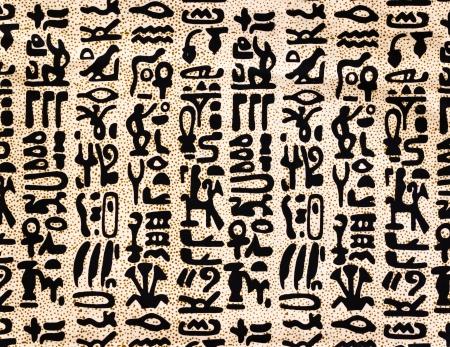 egyptian hieroglyphics texture