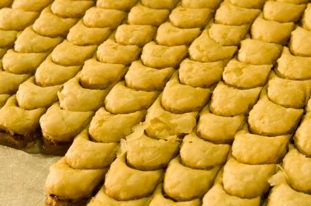 sweet turkish baklava  Stock Photo - 18133763