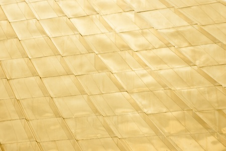 gold tile background photo