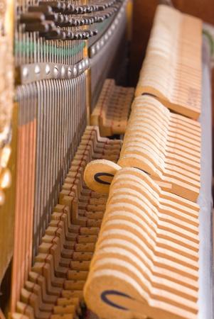 classical mechanics: Piano Music  Stock Photo