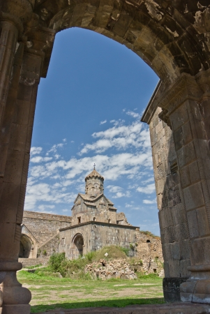 tatev monastery in armenia photo