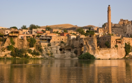 the ancient town of Hasankeyf - Turkey photo
