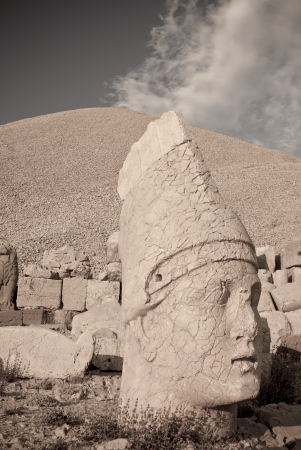Nemrut Dagi in Anatolia - Turkey photo