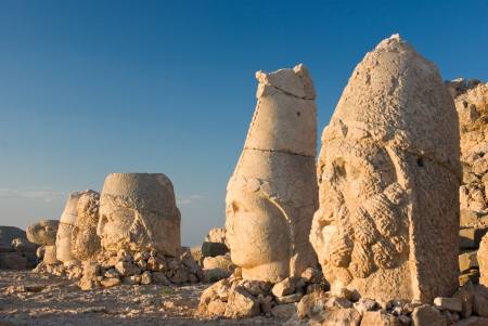 Nemrut Dagi in Anatolia - Turkey