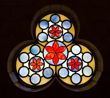 vetrate colorate: finestra vitrage decorativo alla sinagoga Hurva - la citt� vecchia di Gerusalemme