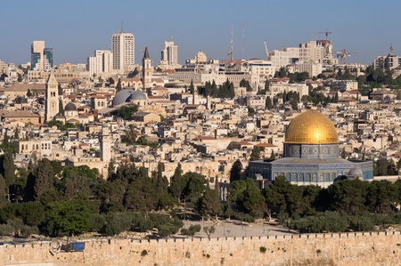 old Jerusalem cityscape Stock Photo
