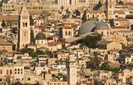 Old Jerusalem cityscape photo