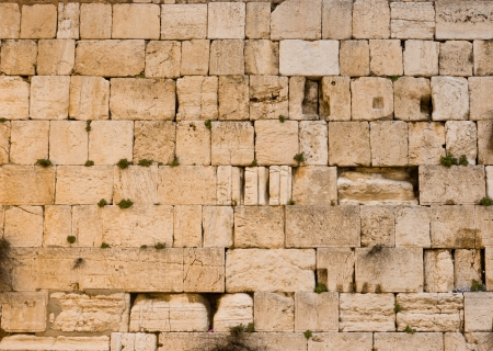the Western Wall in the old city of jerusalem Stock Photo - 18180740