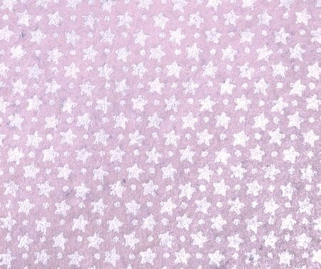 Purple background with white stars Stock Photo - 18219006