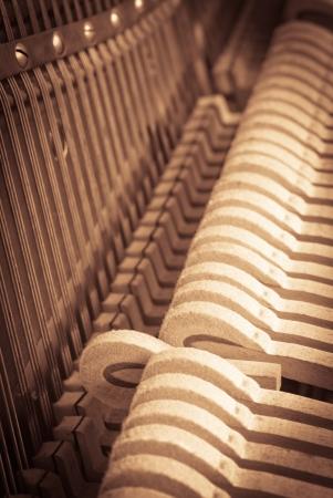 piano de cola: un concepto para la reproducci?n de m?sica cl?sica Foto de archivo
