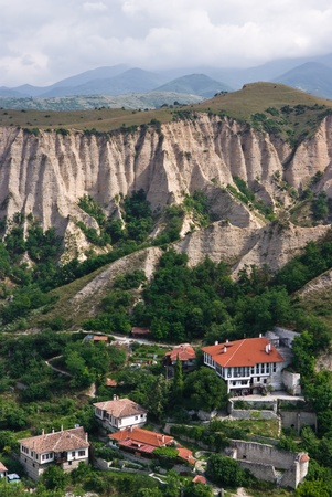 whine: The medival village of Melnik  no 1 wine producing village in bulgaria