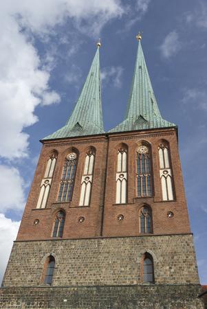 st nicholas church in Berlin - Germany photo
