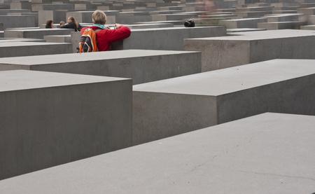 holocaust: the holocaust memorial in Berlin, Germany