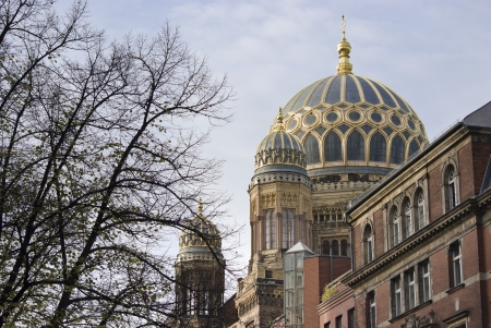 New Synagogue, a Jewish place of worship in Berlin, Germany
