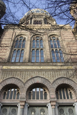 synagoge: New Synagogue, a Jewish place of worship in Berlin, Germany