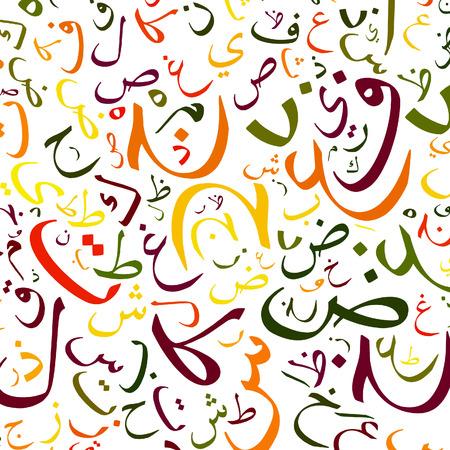 idiomas: alfabeto �rabe textura de fondo - de alta resoluci�n